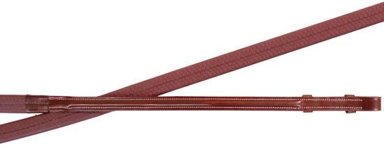 Paris Tack Plain Raised English Rubber Reins