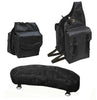 Nylon Saddle Bags Set 3 Item for Trail Riding by Tahoe