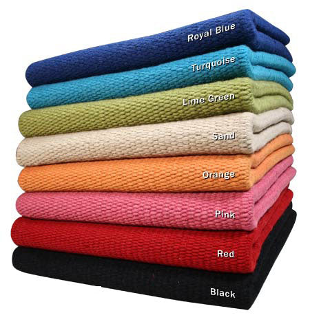 "Tahoe Tack Heavy-Duty Titanic Performance 38x34"" Pure New Zealand Wool Saddle Blanket"