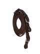 Tahoe Tack Silver Texas Star Leather Western Horse Split Reins with Buckle Bit Ends