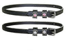 Opulent Series Spur Straps with Swarovski Flower Crystals