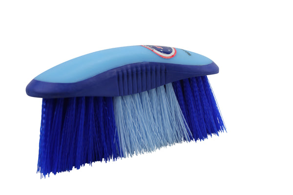 Derby Super Grip Stiff Crinkled Bristle Dandy Brush