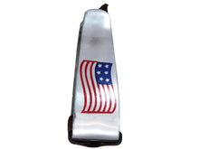 Tahoe Patriotic American Flag Angled Barrel Stirrups Pair