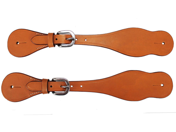 Classic Leather Western Spur Straps by Tahoe Pair