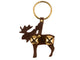 Tahoe Sleigh Bell Leather Door Hanger Moose