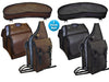 Synthetic Leather Saddle Bags Set 3 Items for Trail Riding Tahoe