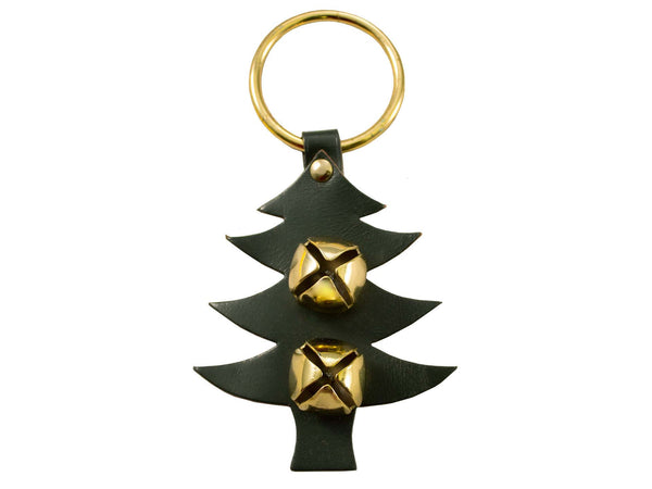 Tahoe Sleigh Bell Leather Door Hanger Tree