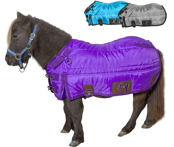 Derby Originals WindStorm 420D Water Resistant Breathable 200g Medium Weight Mini Horse and Pony West Coast Winter Stable Blanket
