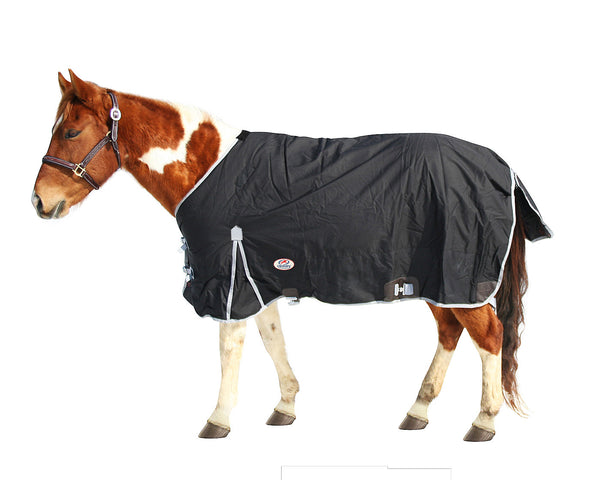 Derby Originals West Coast 600D Ripstop Waterproof Winter Heavyweight Horse Turnout Blanket with 300g Insulation and One Year Warranty