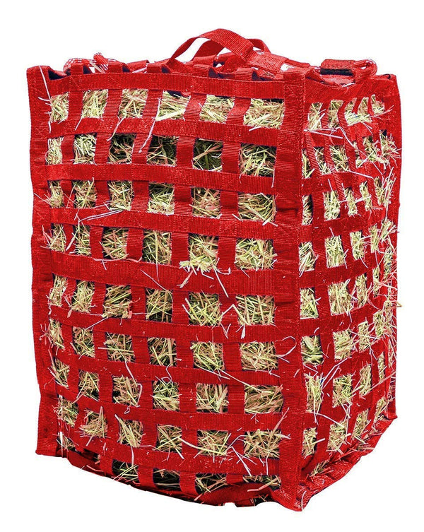 Derby Originals Natural Grazer Slow Feed Hay Bag with 1 Year Warranty and Patented Four Sided Design