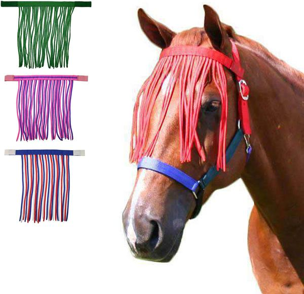 Derby Originals Easy On Horse Fly Fringe - Provides Protection from Insects without Impairing Vision