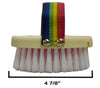 Pony Body Brush with 2 Tone Bristles