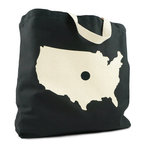 Dot KC Canvas Tote