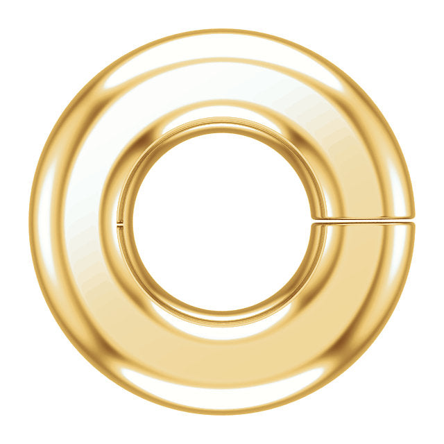 Platinum 18k 14k 10k Gold Round Jump Ring 1.1mm Inside Diameter Jewelry Findings
