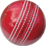 AS Red King Leather Cricket Ball