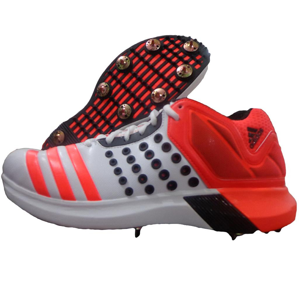 Adidas AdiPower Vector Mid Full Spike Cricket Shoe
