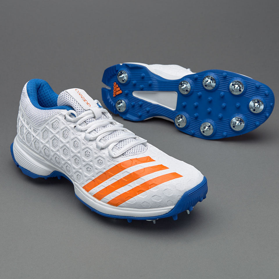 new products 62d6e 57145 Adidas SL22 FS II Removable Metal Spike Cricket Shoes