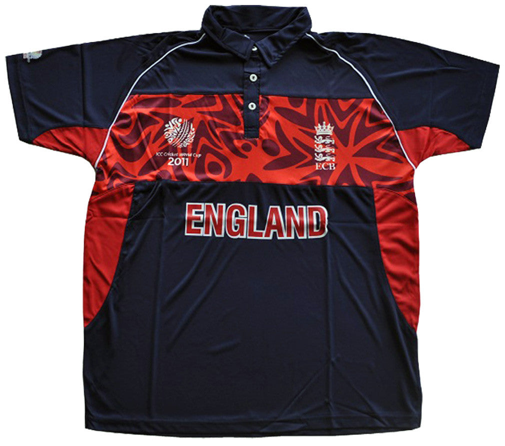 England WC 2011 Cricket Supporter Shirt