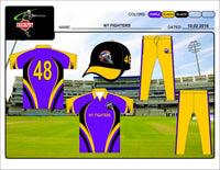 Sublimated Cricket Uniform Set