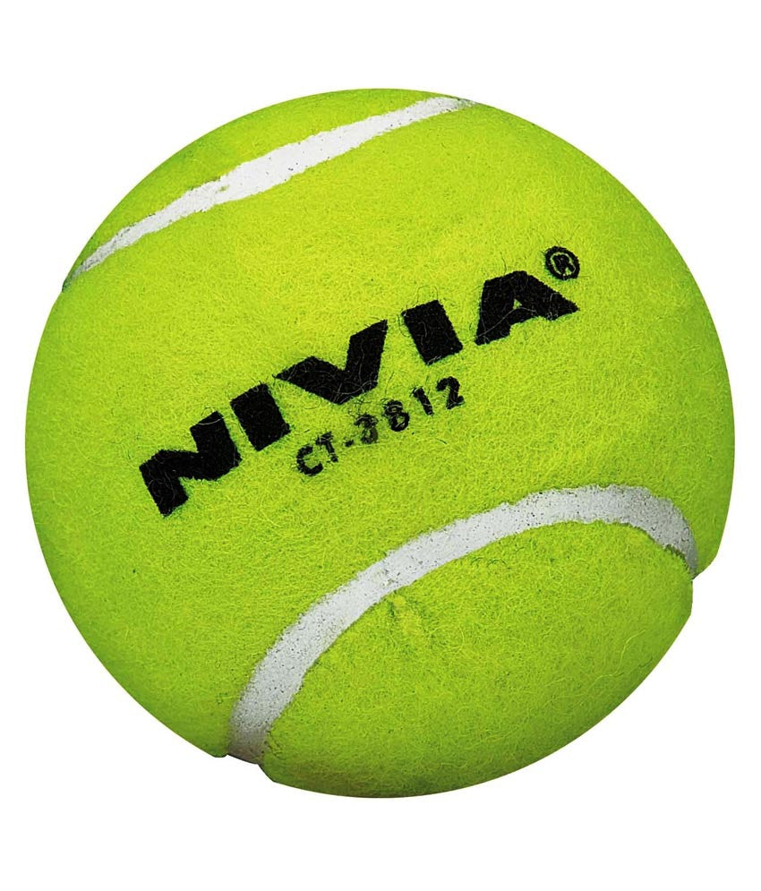 Nivia Yellow Heavy Tennis Ball