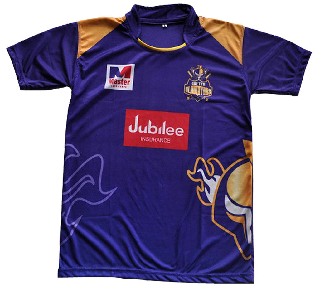 Quetta Gladiators PSL Cricket Shirt