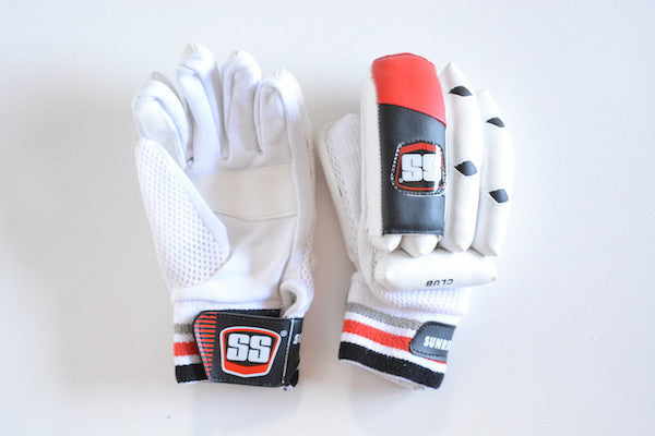 SS Club Double Finger Batting Cricket Gloves