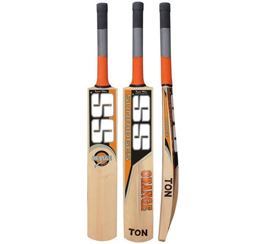 SS Orange English Willow Cricket Bat