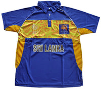 Sri Lanka WC 2011 Supporter Shirt