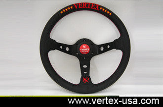 Steering Wheel Vertex 10 Star Red