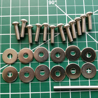 NRG REPLACEMENTS SCREWS FOR SPOILER / WING CARB-SCREWS