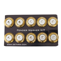 NRG Fender Washer Kit, Set of 10 (Titanium) Rivets for Metal FW-110TI