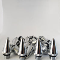 NRG Silver Steel Lug Nuts with Spikes M12 X 1.5 LN-LS700SL-21-SPIKE