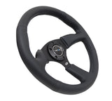 NRG REINFORCED STEERING WHEEL RST-023MB-R