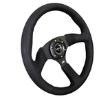 NRG REINFORCED STEERING WHEEL RST-023MB-SA