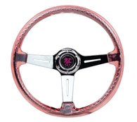NRG Steering Wheel RST-027CH-RD