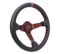 NRG Carbon Fiber Steering Wheel ST-036CF-RD