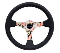 NRG Reinforced Steering Wheel RST-036FL-R