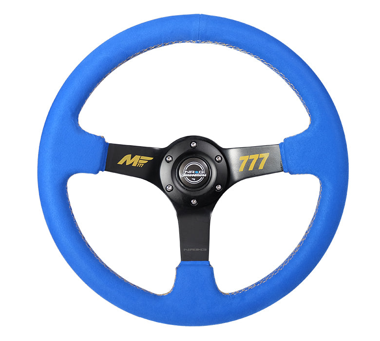 NRG REINFORCED STEERING WHEEL RST-036MB-A-MF2