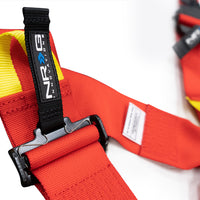 NRG FIA HANS APPROVED 6 POINT HARNESS SBH-HRS6PCRD