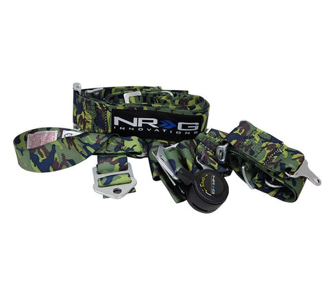 SFI RACING HARNESS 5 POINT SBH-RS5PC-CAMO