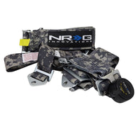SFI RACING HARNESS 5 POINT SBH-RS5PC-DCAMO-GY