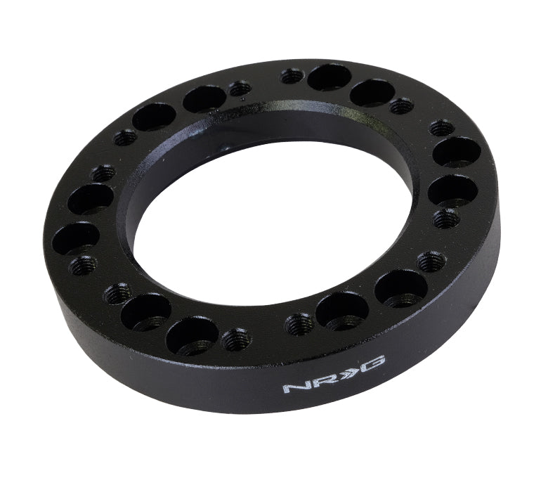 NRG Hub Spacer 1/2 in Black SRK-500B