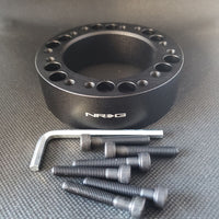 "NRG Hub 1"" Spacer Black SRK-510BK"