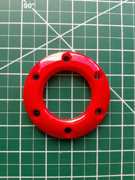 NRG Red Steering Wheel Horn Button Ring (Plastic)