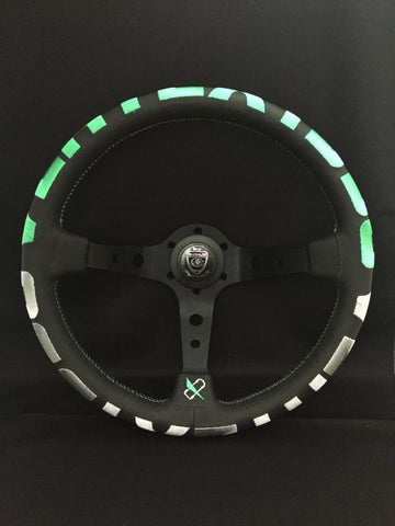 Steering Wheel Vertex 1996 in Green