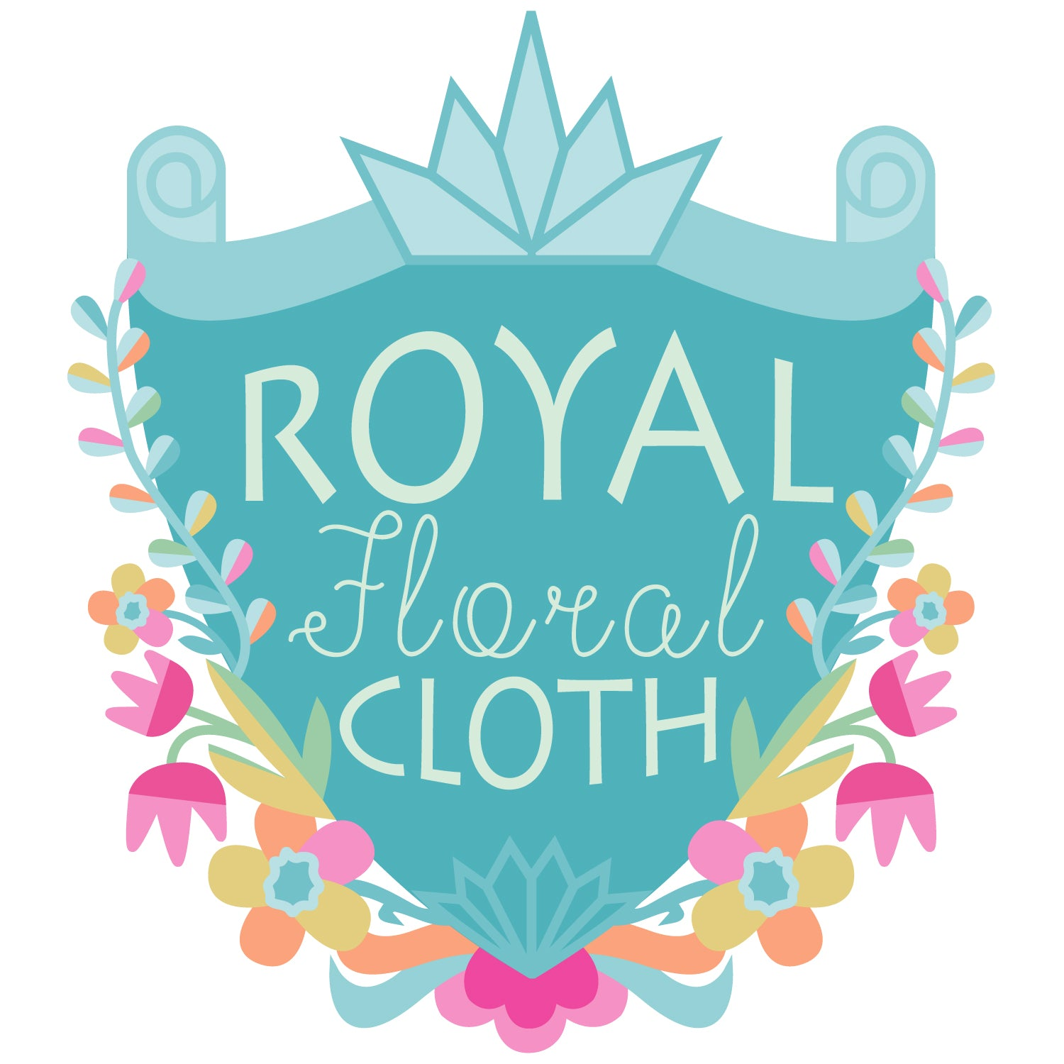 Royal Floral Cloth