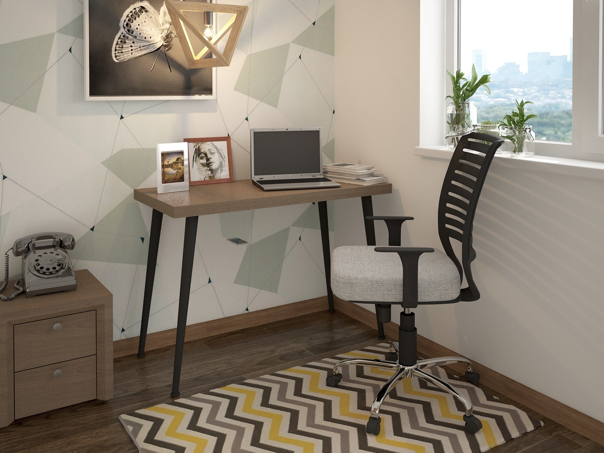 Escritorio Home-Office Apolo