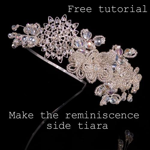 Reminiscence Side Tiara Tutorial Part 3