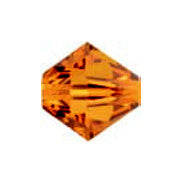 Swarovski 5301 Bicones - Copper (4mm), Pack of 20