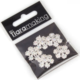 diamante flower findings